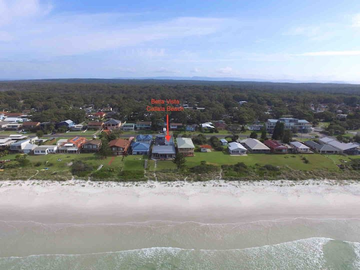 Callala Beach absolute beachfront