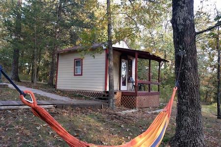Restful Rustic Comfy Cabin.