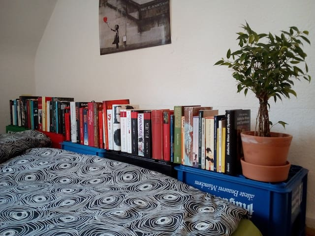 Zimmer nahe des Rheinufers und der Universität - Mannheim - Apartment