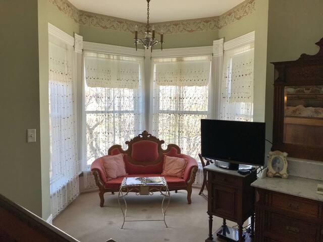 Henrietta Room in Victorian Mansion in Pueblo