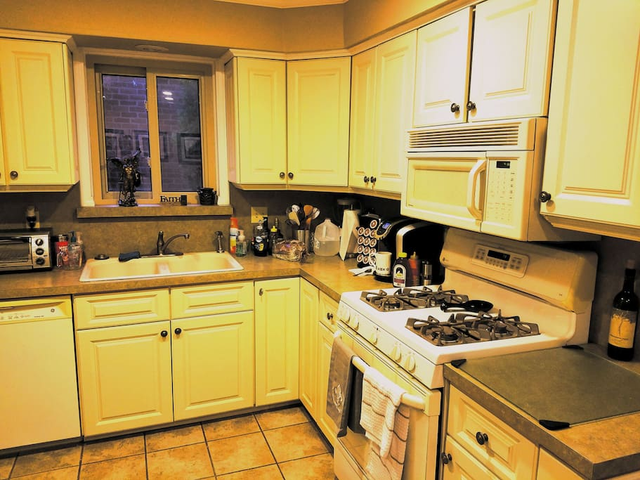 Spacious Kitchen that will accommodate any length of stay.