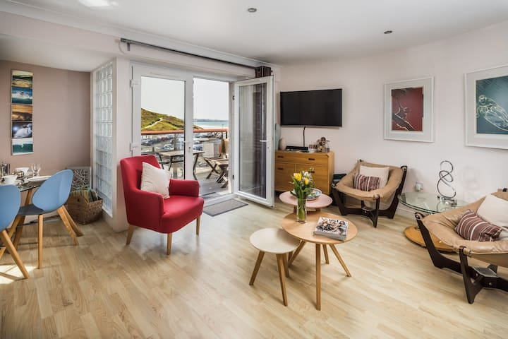 Watergate Bay. 2 bedroom family apartment