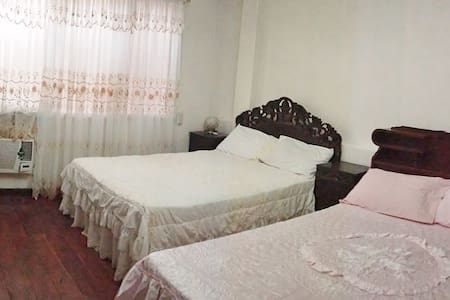 Third & Sean's Place: Double Queen - Legazpi City - Bed & Breakfast