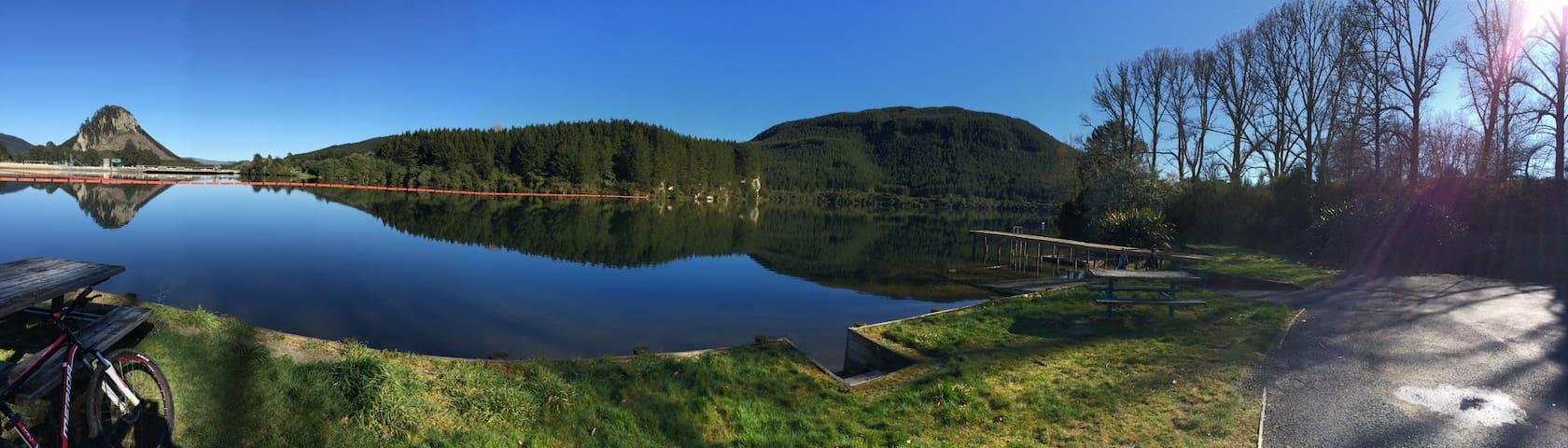 Lake Atiamuri Bach