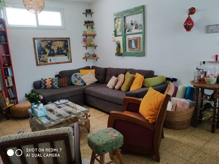 Magical corner at the Moshav