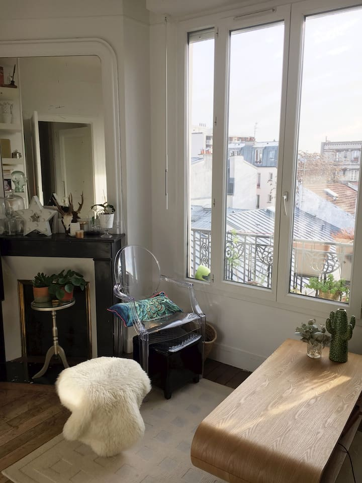 Appartement cosy et lumineux - Apartments for Rent in Paris, Île ...