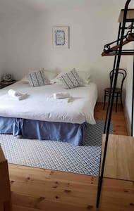 Bed can be used as twin beds or a superking size.  Please let us know at time of booking.