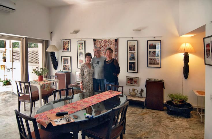 Haveli Hauz Khas Studio - Neu-Delhi - Bed & Breakfast