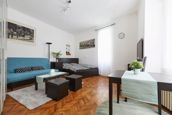 ◇◆Quiet flat in the heart  of Budapest with A/C◆◇