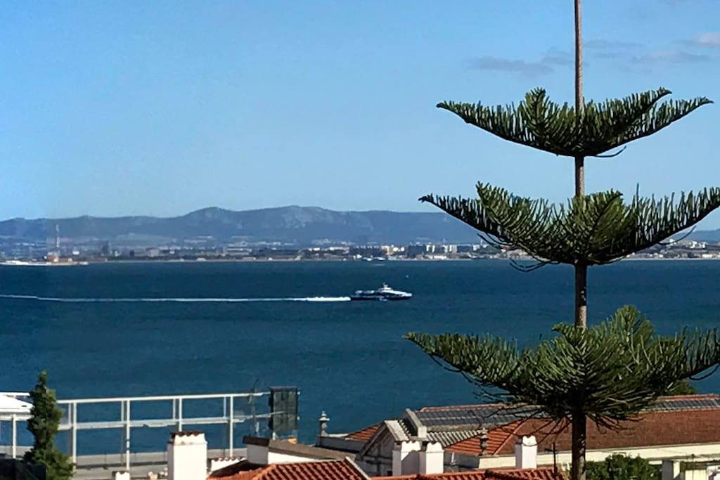 Panoramic view from the balcony 2