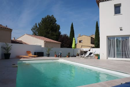 House and Pool in Provence - Pélissanne - Talo