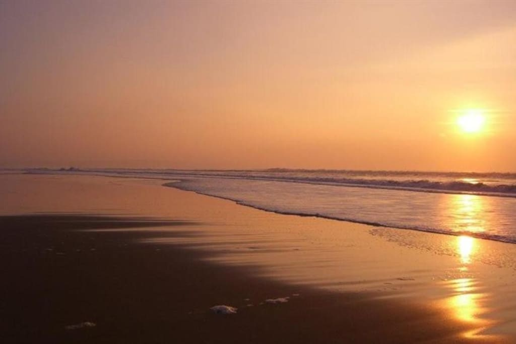 Beautiful beaches and fantastic sunsets