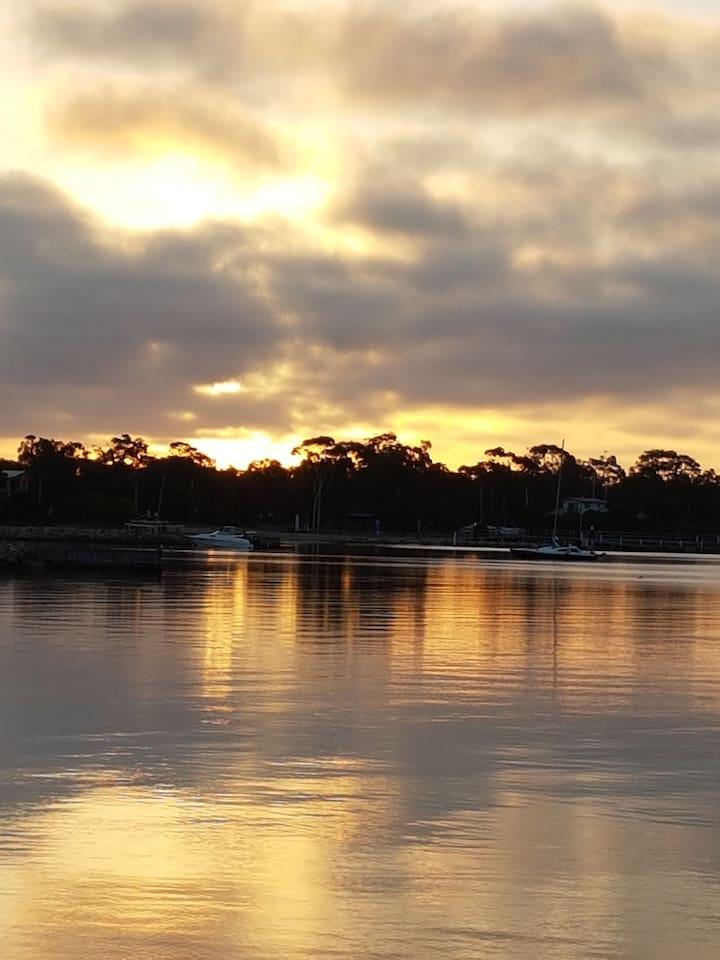 Lake Victoria at Sunset
