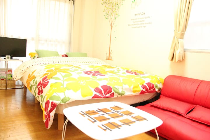 ASAKUSA 2M /INEXPENSIVE /CLEAN /FREE POCKET WIFI#3 - taito-ku - Apartament