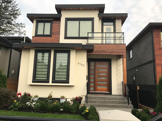 Brand new two BR entire basement suite near JIBC
