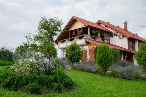 Lavendelboerderij-Appartement in Lavendelveld