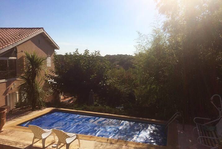 Grande maison, Piscine et jardin à prox d'Anduze - Tornac - Casa