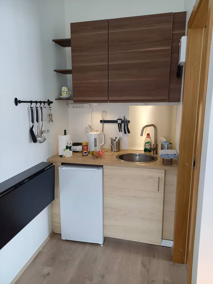 Hvolstún studio apartment