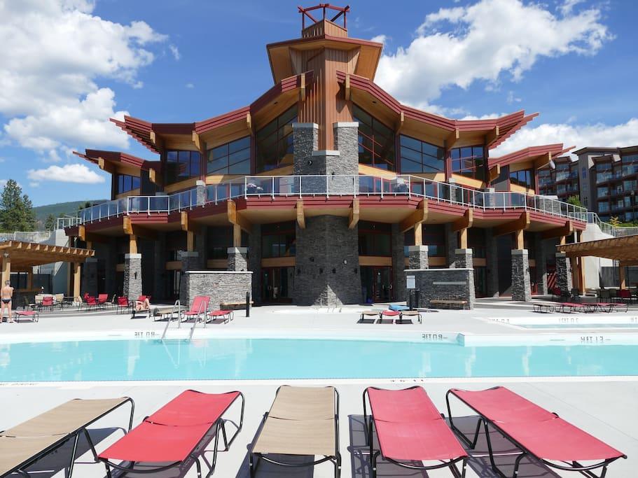 Best pool deck in West Kelowna.