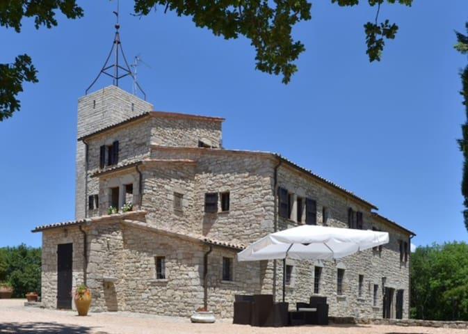 Medieval Castle near Todi
