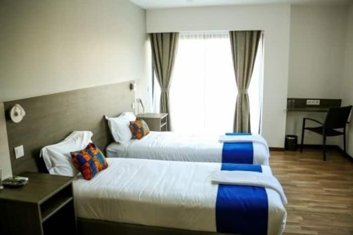 Furnished Private Twin Rooms in Maputo, Mozambique