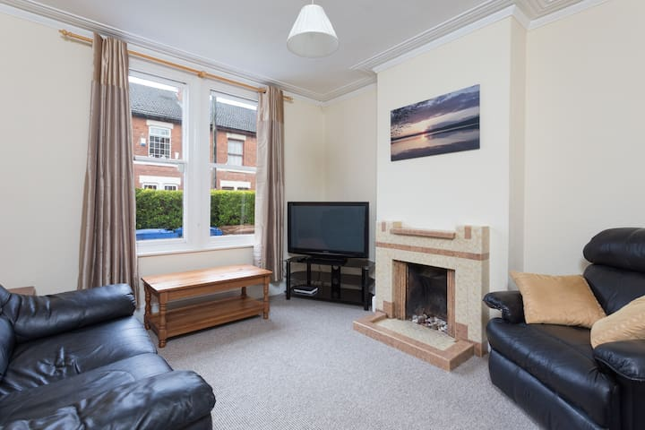 Private 5 Bed City Home Free Wifi and Free Parking - Derby