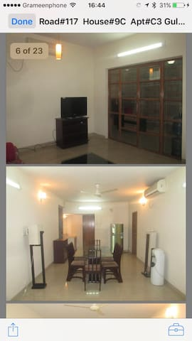Fully furnished apartment in Dhaka