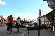 Plac Nowy (Nowy Square) - Heart of Kazimierz - only 3 minutes away