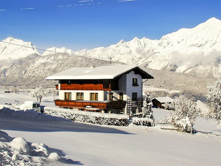 Apartment with 2 bedrooms in Weerberg, with wonderful mountain view, furnished garden and WiFi - 3 km from the slopes
