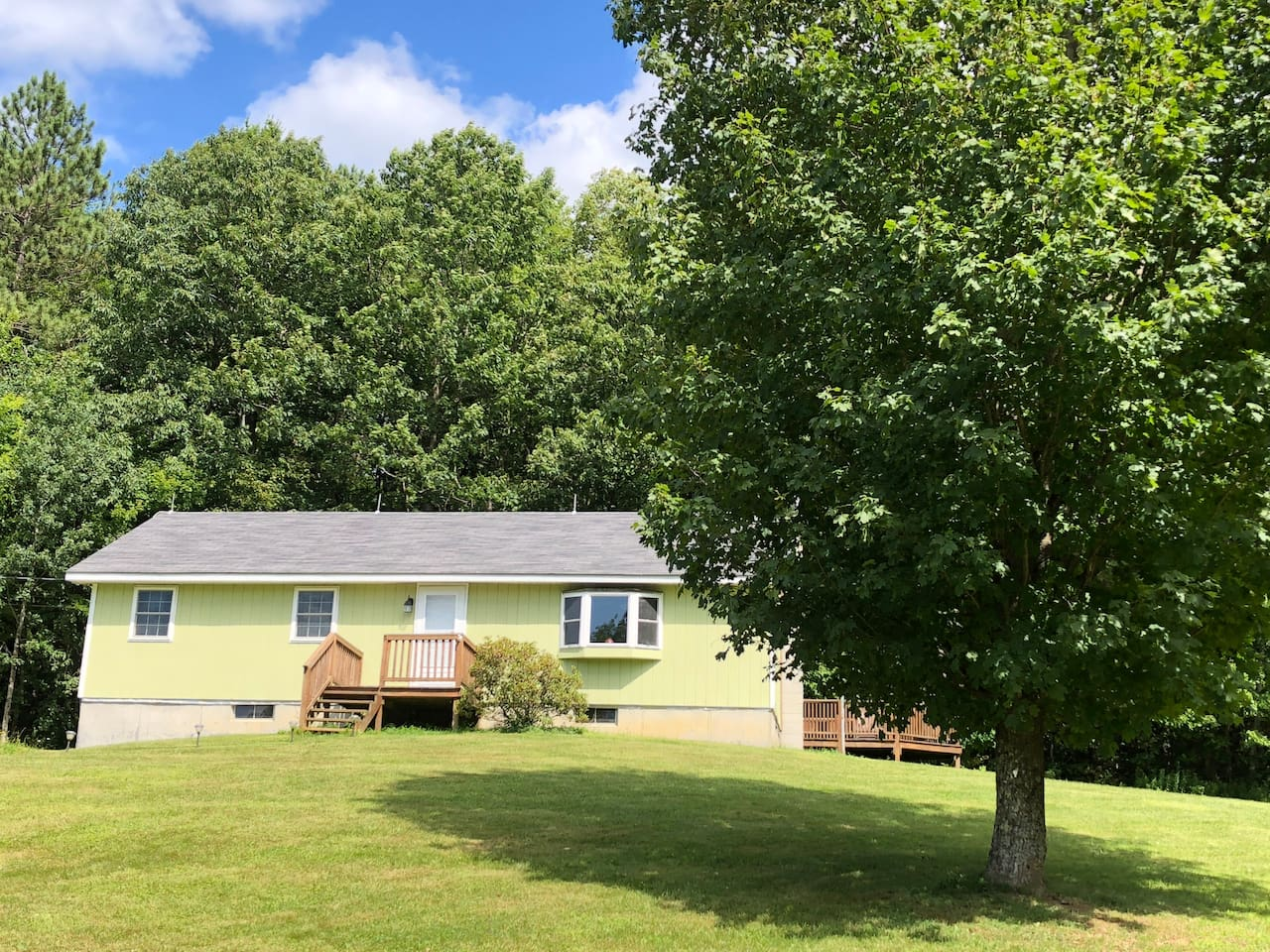 Beautiful  3 bedroom ranch on 1+ acre property surrounded by State Land.