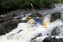 Adventures in Taboquinhas, rafting on the Rio de Contas is one of them.