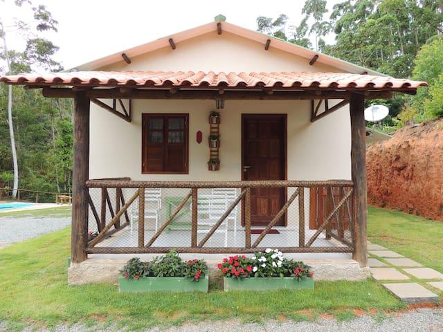 Casa do Serafim Santa Teresa-ES para locação.