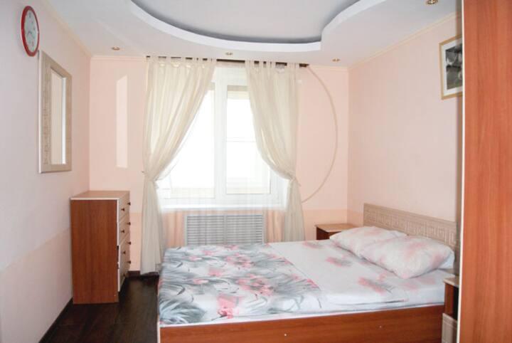 Двухкомнатная квартира, отличное расположение