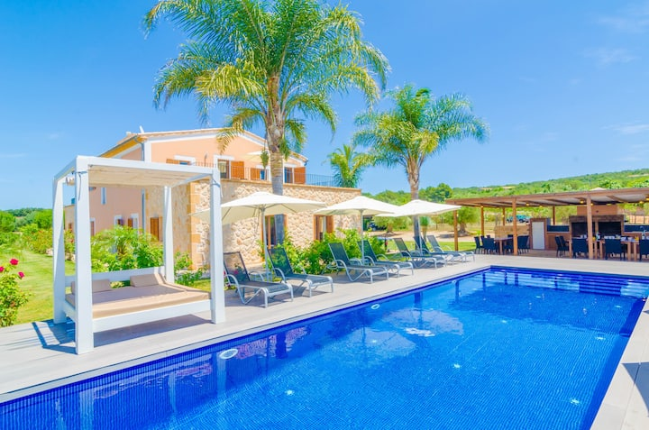 FINCA SHORT DE CONIES 2 - Fabulous villa with private pool, perfect for big groups. Free WiFi