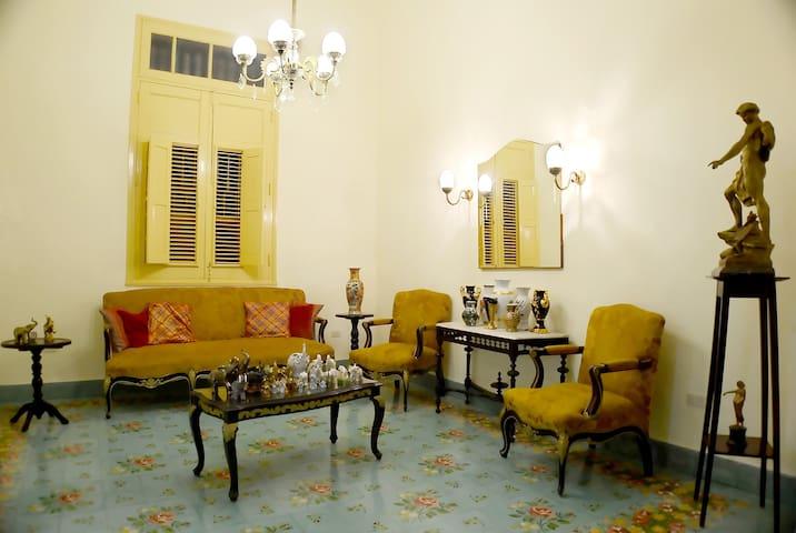 Sala del Hostal Francisco