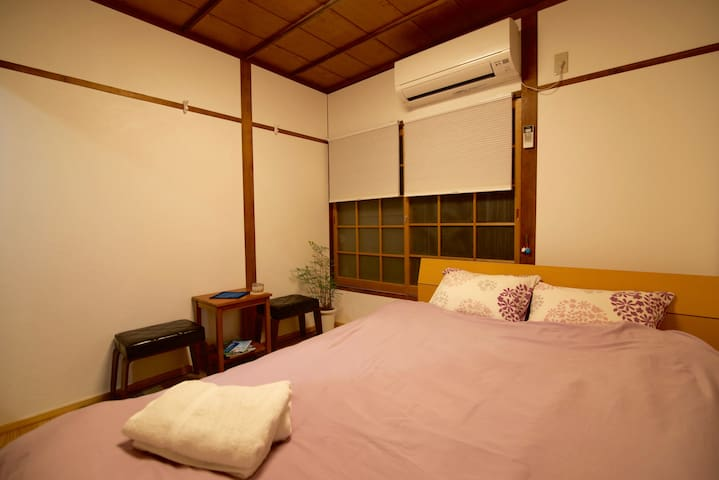 JR/Keisei Kanamachi 6min, Double room, Free WiFi - Katsushika-ku - Bed & Breakfast