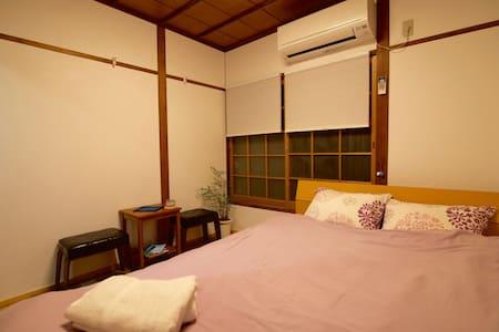 JR/京成金町駅徒歩6分 - 洋室(ダブルベッド) - 上野、有楽町、六本木へ乗り換え無し - Katsushika-ku