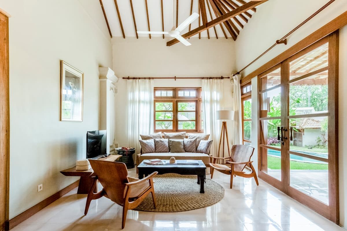 Walk to Sanur Beach from a Spacious Home with Pool