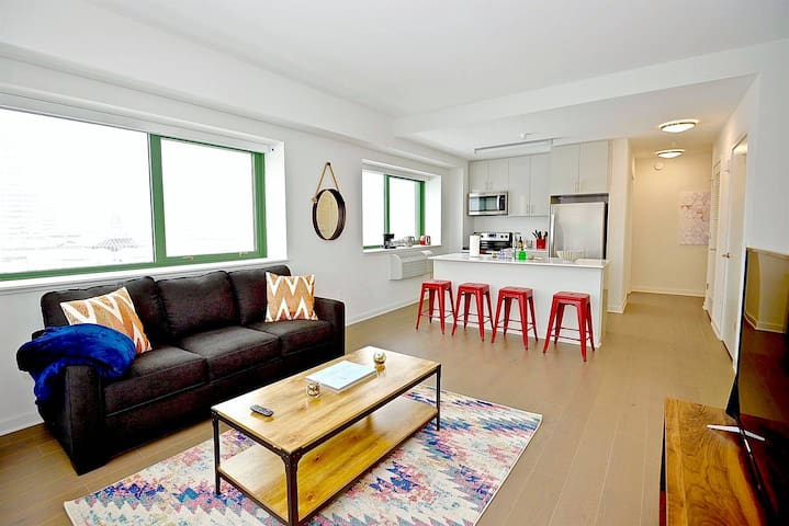 Kasa | Jersey City | Modern 2BD/2BA Apartment