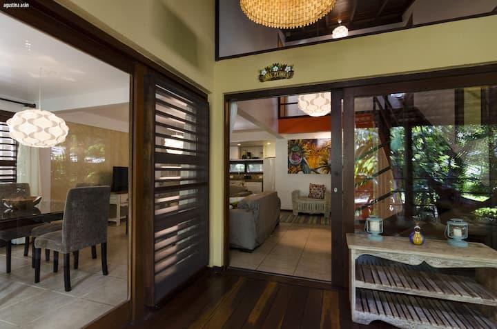 Casa Flores: paraíso tropical