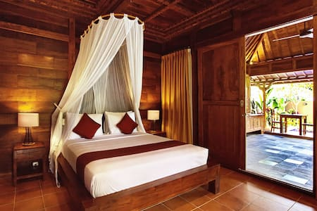 Relaxing House with Private Pool and Valley View - Ubud