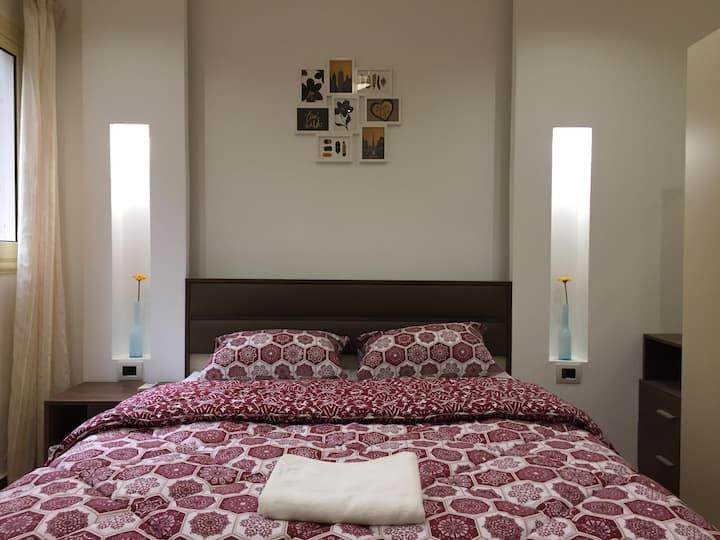 Beautiful bright private room in Degla Maadi