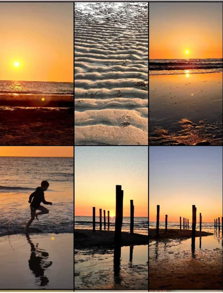 Vakantie aan de kust, geniet van strand en duin ❤️