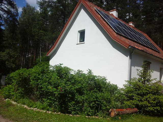 Beautifull white house in the middle of the forest - Kopanka Druga