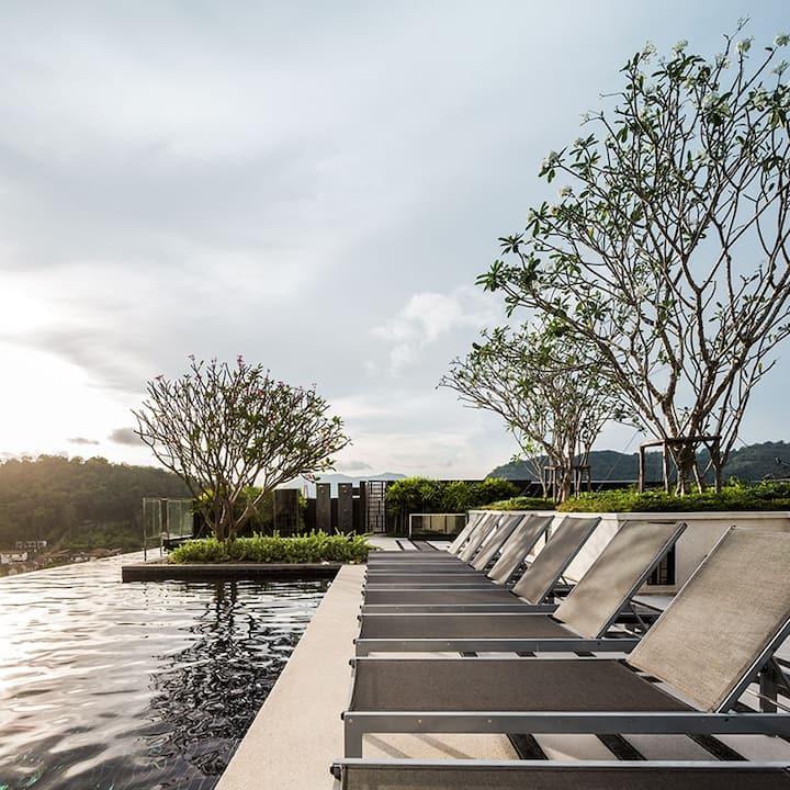 Luxury Room / Roof Top Pool / Phuket Town #H85