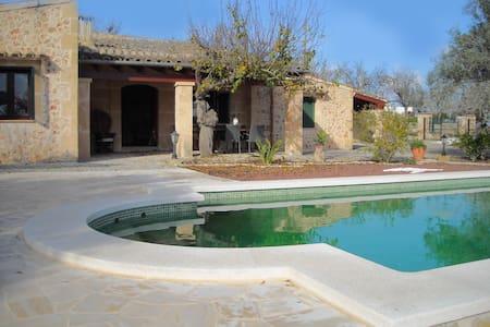 Salzwasser-Pool-Finca im Herzen Mallorcas - Sant Joan