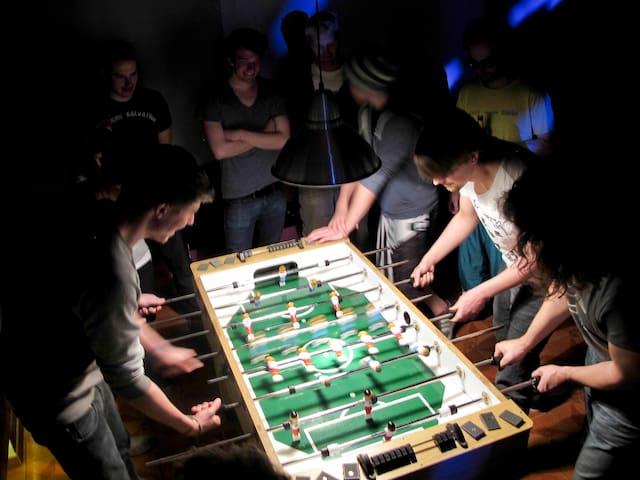 Spaß im Haus / Fun within the lodge
