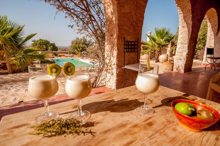 Villa with Pool in the countryside of Essaouira