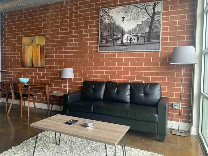 Two Story Center City Loft Apartment