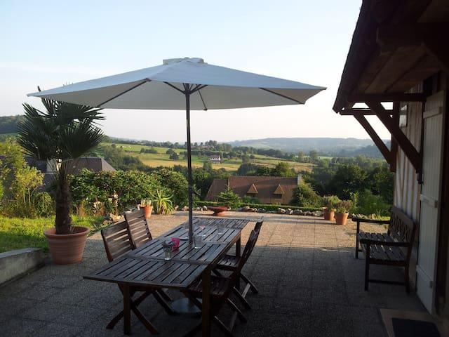 Vue magnifique/magnificent view - Manneville-la-Pipard